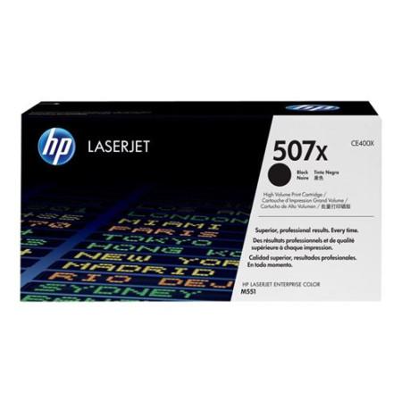 Toner HP LaserJet Original 507X Preto (CE400X)