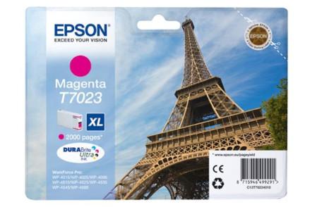 Tinteiro Epson T7023 XL Magenta Original (C13T70234010)
