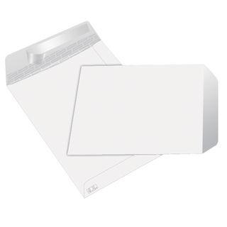 Envelopes Brancos B4 (250X353mm) c/tira de silicone - Pack 250 unidades