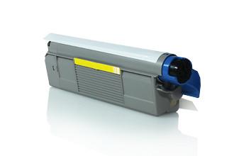 Toner OKI Compatível C612 Amarelo (46507505)