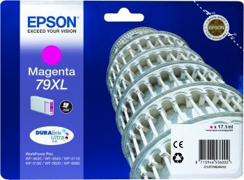 Tinteiro Epson 79XL Magenta Original Série Torre de Pizza (C13T79034010)