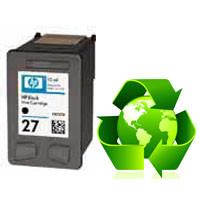 Tinteiro HP Reciclado Nº 27 preto (C8727AE)   - ONBIT