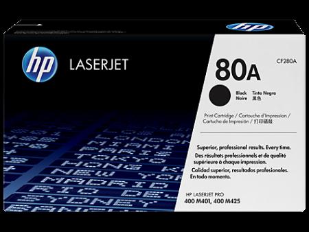 Toner HP LaserJet Original 80A Preto (CF280A)