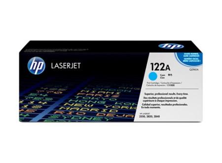 Toner HP LaserJet Original 122A Azul Q3961A