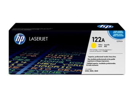 Toner HP LaserJet Original 122A Amarelo Q3962A