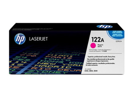 Toner HP LaserJet Original 122A Magenta Q3963A