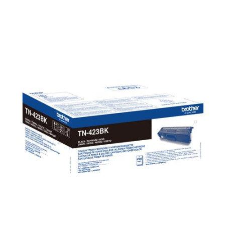 Toner Brother Original TN-423BK Preto
