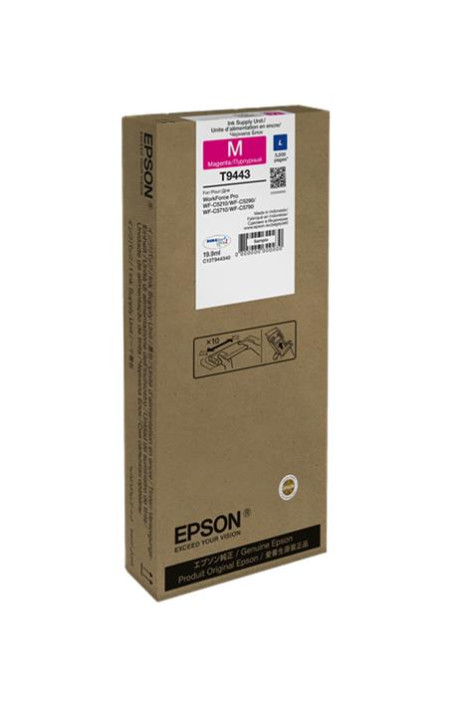 Tinteiro Epson T9443 Magenta Original (C13T944340)
