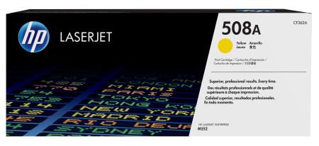 Toner HP LaserJet Original 508A  Amarelo (CF362A)