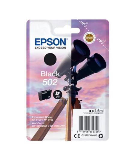 Tinteiro Epson 502 Preto Original Série Binóculos T02V1 (C13T02V14010)