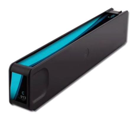 Tinteiro HP Compatível 913A / 973X Azul (F6T77AE)