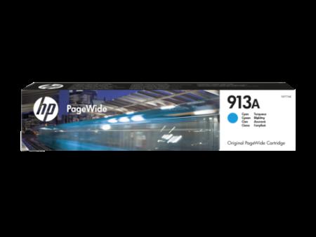 Tinteiro HP 913A Azul Original PageWide (F6T77AE)