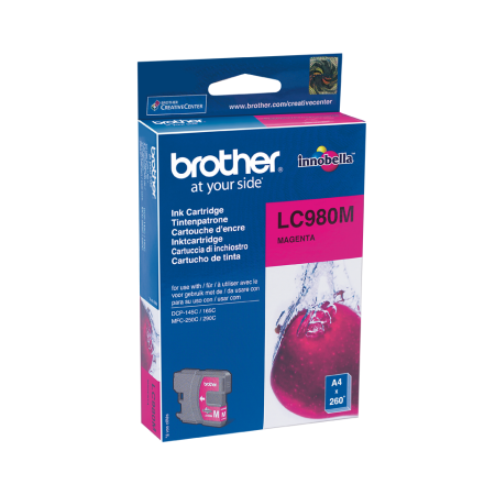 Tinteiro Brother Original LC980 Magenta (LC980M)