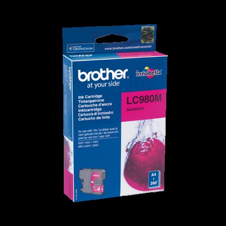 Tinteiro Brother Original LC980 Magenta (LC980M)