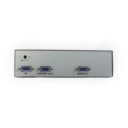 Splitter de Video Gembird p/ 2 Monitores VGA