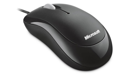 Rato Microsoft Ótico Basic Business Preto