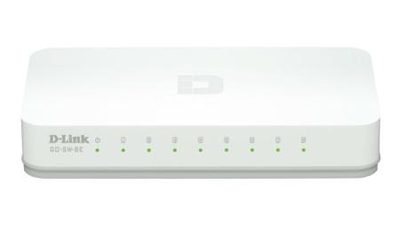 Switch D-Link Go 8 Portas 10/100/1000Mbps GO-SW-8G