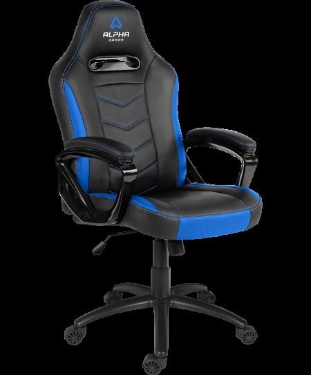 Cadeira Gaming Alpha Gamer Kappa Preta/Azul