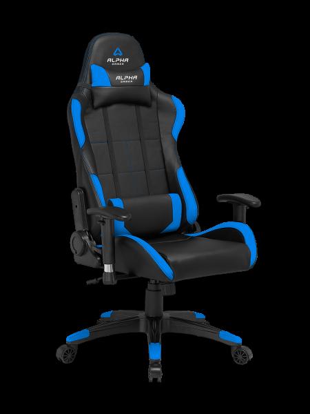 Cadeira Alpha Gamer Vega Preta/Azul  AGVEGA-BK-BL1 - ONBIT