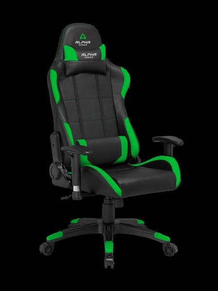 Cadeira Alpha Gamer Vega Preta/Verde  AGVEGA-BK-GRN - ONBIT