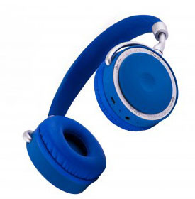Auscultadores CoolSkin Bluetooth Azuis by Coolbox