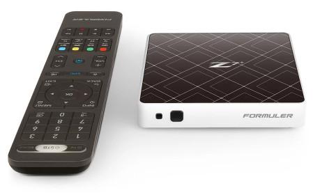 Receptor IPTV Formuler Z7+ 4K Android Branca