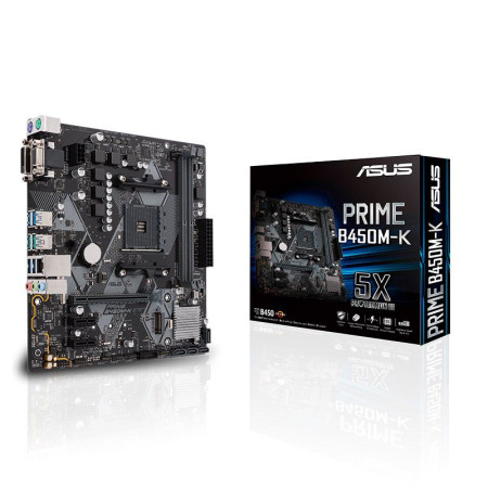 Motherboard Asus Prime B450M-K - sk AM4