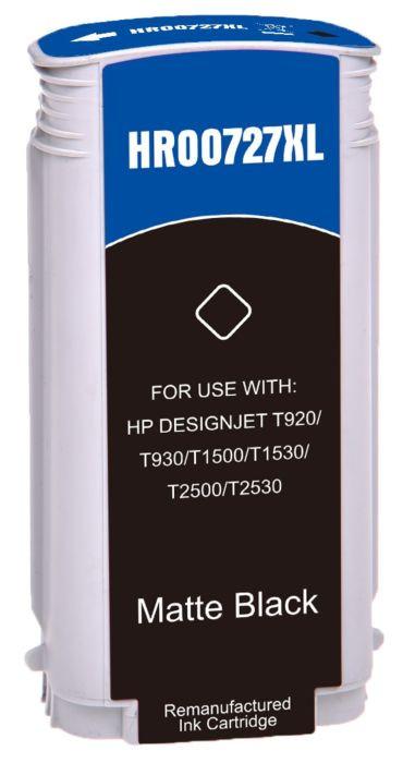 Tinteiro HP Compatível 727 Preto Mate (B3P22A)