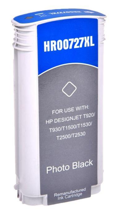 Tinteiro HP Compatível 727 Preto Fotografia (B3P23A)