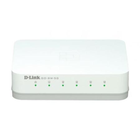 Switch D-Link Go 5 Portas 10/100/1000Mbps GO-SW-5G