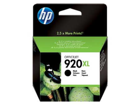 Tinteiro HP 920 XL Preto Original (CD975AE)