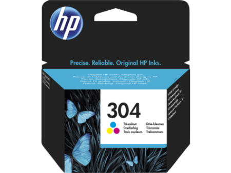 Tinteiro HP 304 Original Tricolor (N9K05AE)   - ONBIT