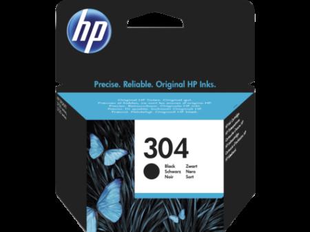 Tinteiro HP 304 Original Preto (N9K06AE)   - ONBIT