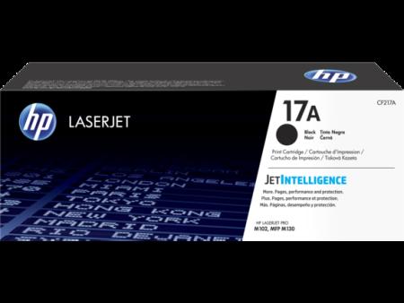 Toner HP LaserJet Original 17A Preto (CF217A)