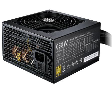 Fonte de Alimentação Cooler Master MWE Gold 650W