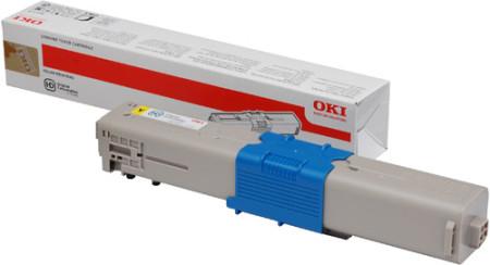 Toner Oki Original C301 / C321 / MC322 / MC342 Amarelo