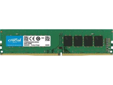 Memoria Crucial 16GB DDR4 2400MHz CL15 1.2V