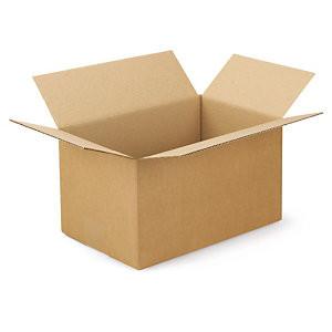 Caixa de Cartão Canelado Fino 460x260x180 mm - Pack 15 unidades