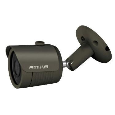 Câmara IP Amiko B30M200B FHD PoE 1080p Visão Nocturna Interior/Exterior Cinza Escura
