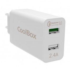 Carregador Quick Charger 2 Portas USB Coolbox