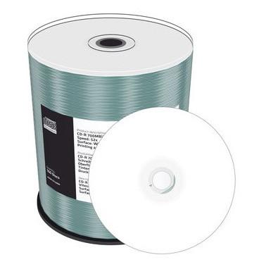 CD-R MediaRange Imprimível 52X - Pack 100