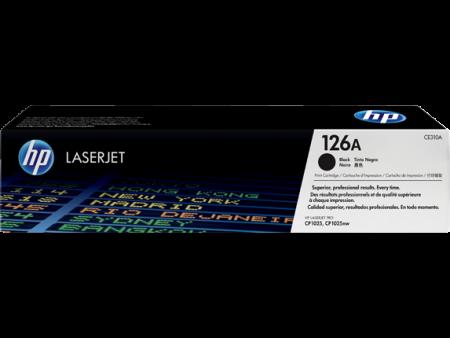 Toner HP LaserJet Original 126A Preto CE310A