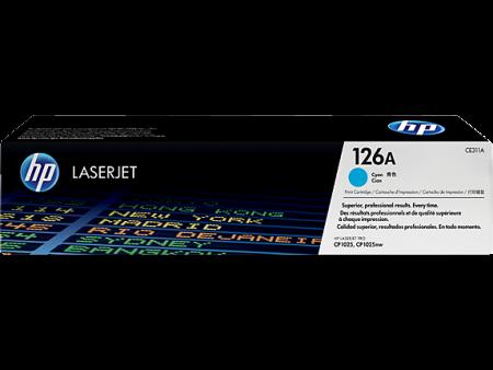 Toner HP LaserJet Original 126A Azul CE311A