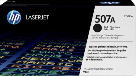 Toner HP LaserJet Original 507A Preto (CE400A)
