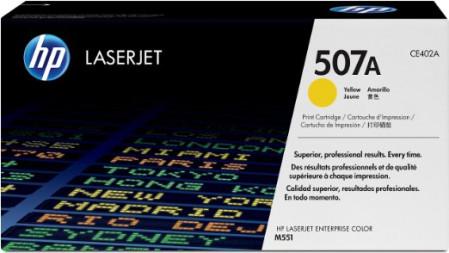 Toner HP LaserJet Original 507A Amarelo (CE402A)