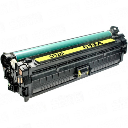 TONER 653A HP Compativel Amarelo (CF322A)   - ONBIT
