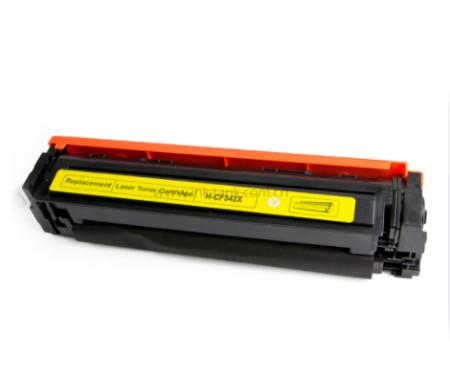 Toner HP 203X / 203A Compatível (CF542X / CF542A) Amarelo