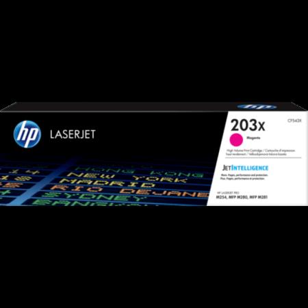 Toner HP LaserJet Original 203X Magenta (CF543X)