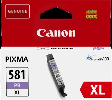 Tinteiro Canon CLI-581PB XL Foto Azul Original (2053C001)