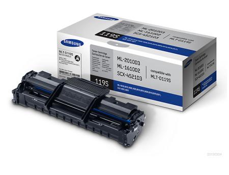 Toner Samsung Original MLT-D119S Preto (MLT-D119S/ELS)